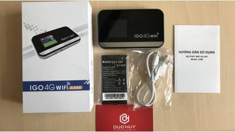 5 Lý do nên mua ngay bộ phát Wifi 4G IGO A368 giá 1,59 triệu