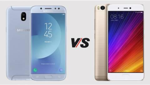 Nên mua Samsung Galaxy J7 Pro công ty hay Xiaomi Mi 5S?