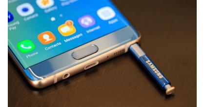 Samsung Galaxy Note 7 tân trang sẵn sàng chờ ngày lên kệ