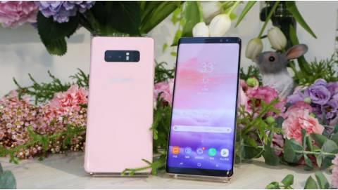 Samsung Galaxy Note 8 hồng phấn nữ tính bất ngờ xuất hiện