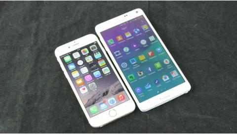So sánh Galaxy Note 4 cũ và iPhone 6 Lock: Model nào tốt hơn?