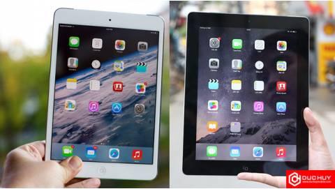 So sánh iPad 4 32GB và iPad Mini 2 32GB: Đâu là lựa chọn tốt nhất?