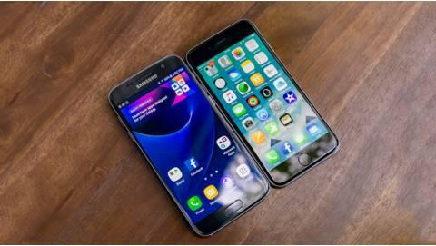 So sánh iPhone 6S quốc tế và Galaxy S7 2 sim: Cuộc chiến thế kỷ