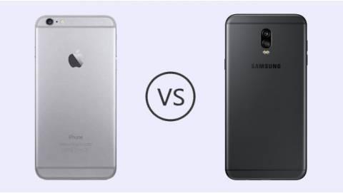 Mua iPhone 6 Plus quốc tế hay Galaxy J7 Plus công ty tốt hơn?