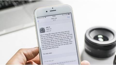 Nhanh tay cập nhật iOS 11 bản chính thức cho iPhone, iPad
