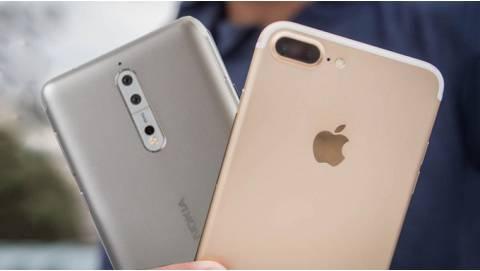 Giá bán iPhone 7 Plus rẻ hơn nhưng trải nghiệm ngang Nokia 8