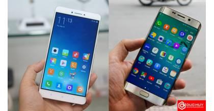 Samsung Galaxy S6 Edge Plus trong cuộc chiến màn hình với Mi Max