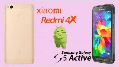 Giá rẻ, chọn mua Galaxy S5 Active hay Xiaomi Redmi 4X