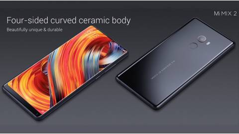 Xiaomi Mi MIX 2 ra mắt: Bezel mỏng, RAM 6GB, giá 11,4 triệu