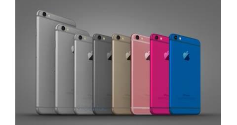 Bộ ảnh iPhone 6C với màn hình 4inch, đa màu sắc, giá rẻ