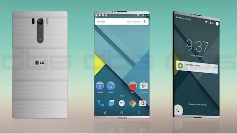 LG G5 lộ diện với thiết kế kim loại nguyên khối
