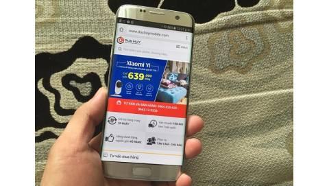Trên tay Samsung Galaxy S7 Edge Hàn Quốc giá 14 triệu đồng