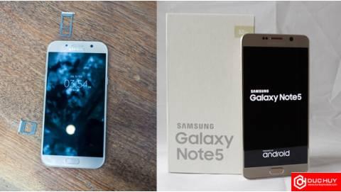 Samsung Galaxy Note 5 hay A7 2017 đang dẫn đầu phân khúc 8 triệu?
