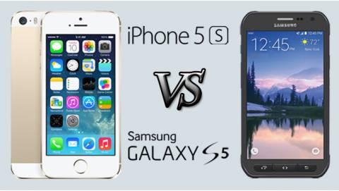 So sánh iPhone 5S và S5 Active: Đâu là bá chủ tầm giá 2 triệu?