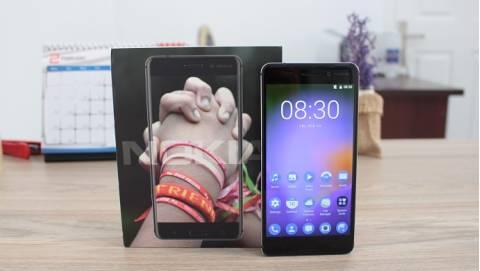 Trên tay Nokia 6 giá 8 triệu trên kệ Duchuymobile.com