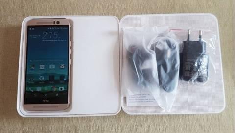 Đập hộp HTC One M9 full-box, giá dưới 5 triệu
