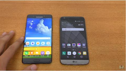 Samsung Galaxy Note 7 tiếp chiêu LG G5 : Thêm một lần…thua