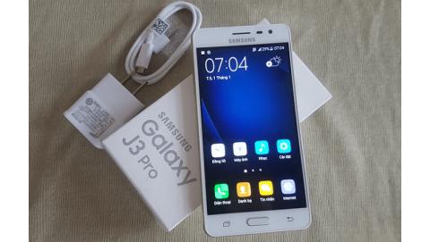 Samsung Galaxy J3 Pro - Thiết kế nguyên khối, RAM 2GB, giá dưới 3 triệu