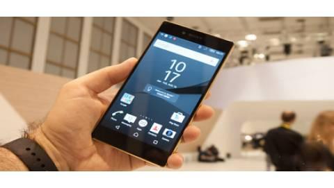 Màn hình Sony Xperia Z5 Premium có tới hai độ phân giải