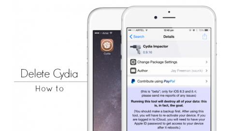 3 bước để xóa cydia trực tiếp trên iPhone