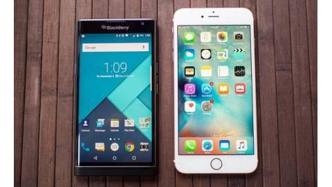 BlackBerry Priv đọ dáng cùng iPhone 6S Plus