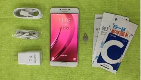 Đập hộp Samsung Galaxy C7 RAM 4GB đầu tiên tại Việt Nam