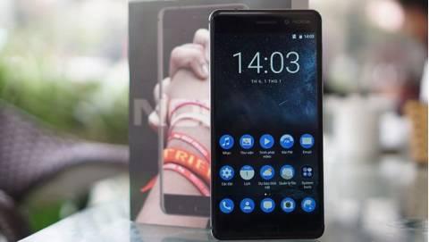 Đập hộp Nokia 6 đầu tiên về Việt Nam: