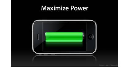 Thủ thuật tăng thêm 3 giờ sử dụng cho pin iPhone