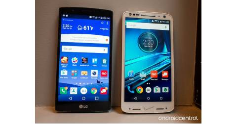 Motorola Droid Turbo 2 so găng cùng LG G4