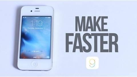 Tweak giúp tăng tốc thiết bị iPhone Jailbreak chạy iOS 9