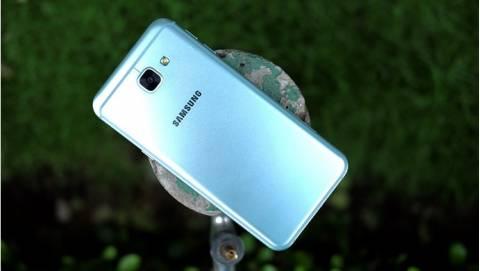Trên tay Samsung Galaxy A8 2016 màu xanh coral tại VN