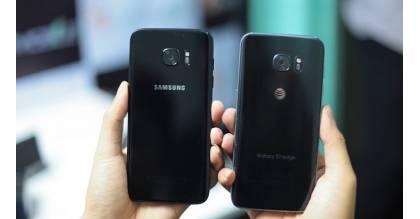 Đập hộp Samsung Galaxy S7 Edge đen bóng tại Việt Nam