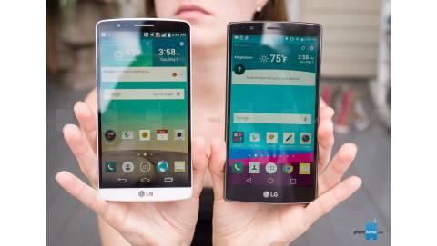 LG G4 2 sim so sánh thiết kế với LG G3