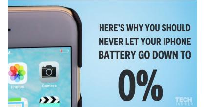 Tại sao không nên để pin iPhone của bạn xuống mức 0%