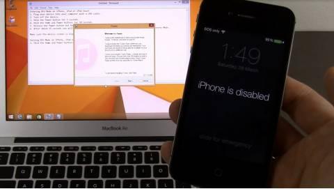 Cách mở khóa iPhone khi nhập sai mật khẩu