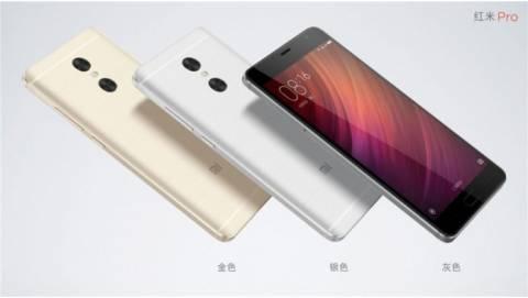 Xiaomi Redmi Pro ra mắt sở hữu camera kép, chip Helio X25 và X20