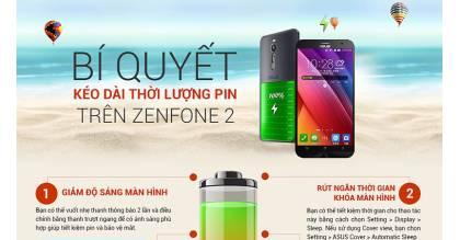Bí quyết tiết kiệm pin trên Asus ZenFone 2 làm người dùng thích thú