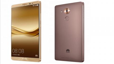 Huawei Mate 8 chính thức ra mắt, giá tầm trung