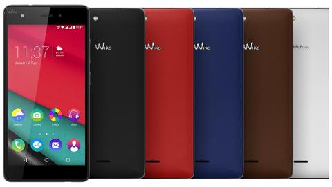 Wiko Pulp Fab - Smartphone giá chỉ 3,69 triệu đồng tại Việt Nam