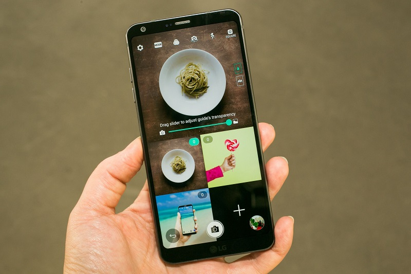 LG G6 hạ độ phân giải