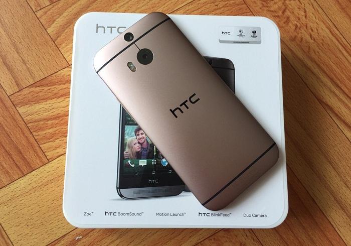 Đập hộp HTC One M8 1