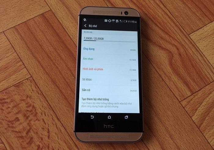 Đập hộp HTC One M8 14