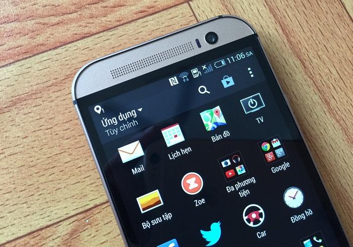 Đập hộp HTC One M8 2