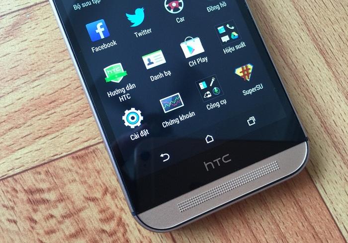 Đập hộp HTC One M8 3