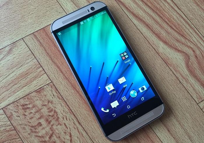 Đập hộp HTC One M8 7