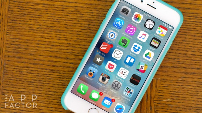 tăng tốc iPhone 1