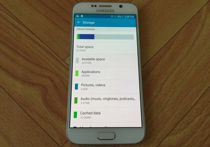 Đập hộp Samsung Galaxy S6 32GB 12