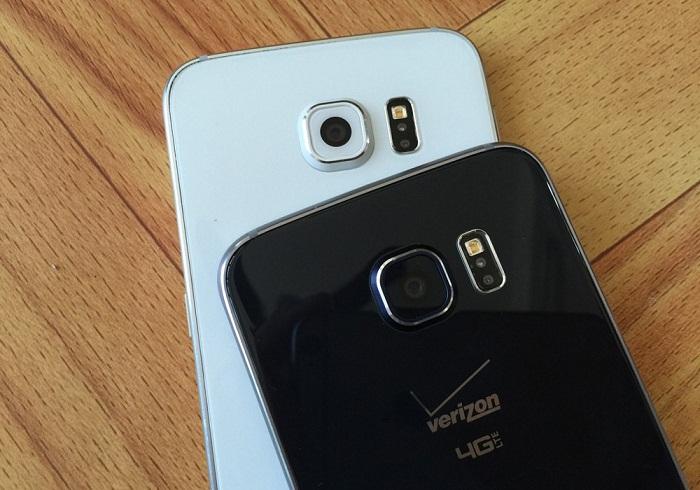Đập hộp Samsung Galaxy S6 32GB 2