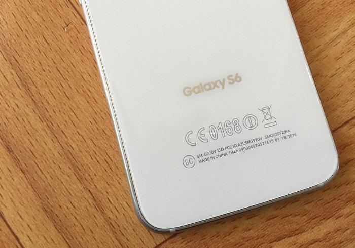 Đập hộp Samsung Galaxy S6 32GB 3