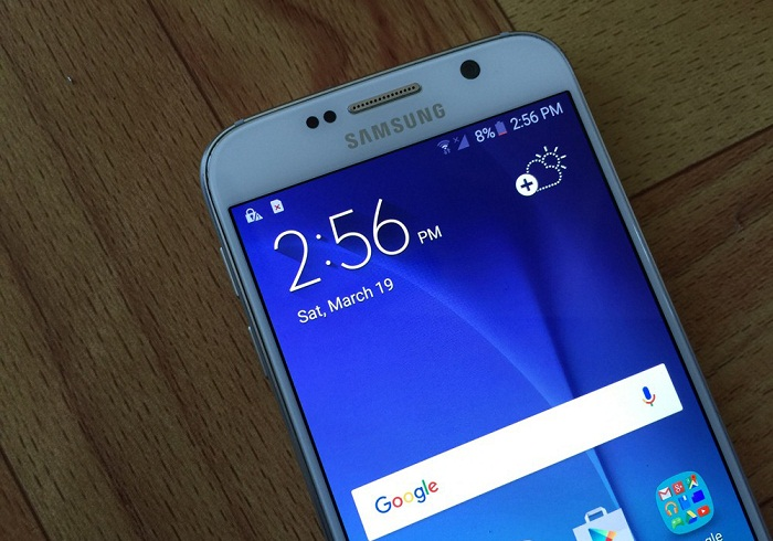 Đập hộp Samsung Galaxy S6 32GB 5